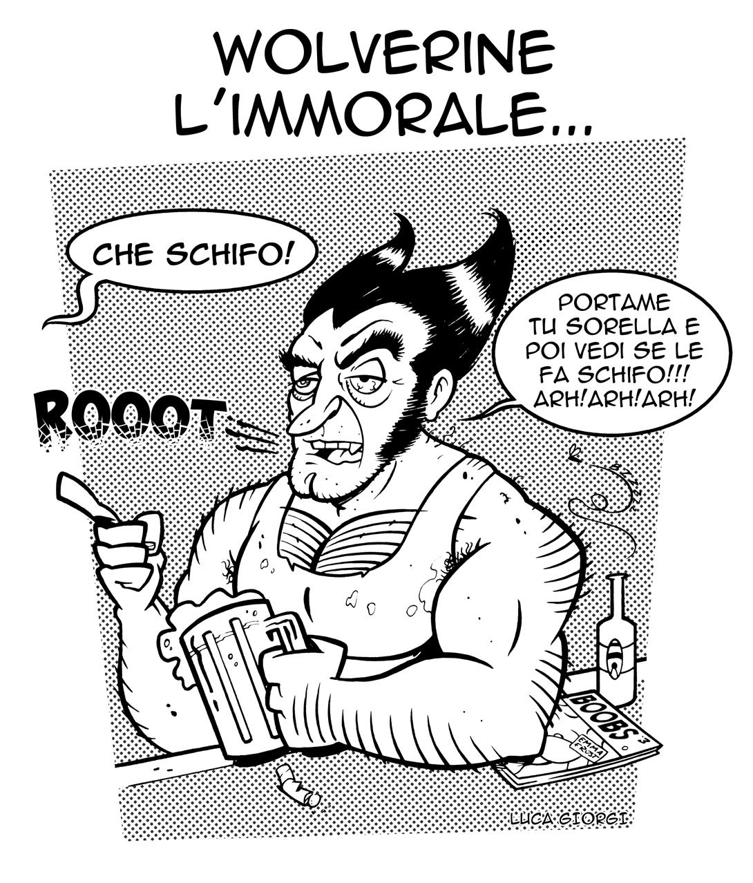 Wolverine l'immorale