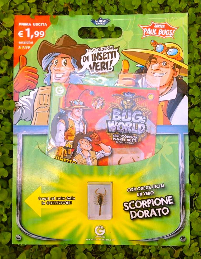 Bugs World, il micro universo degli insetti a fumetti